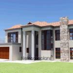 Modern Bali Style House Plan Bedroom Double Storey Floor Plans