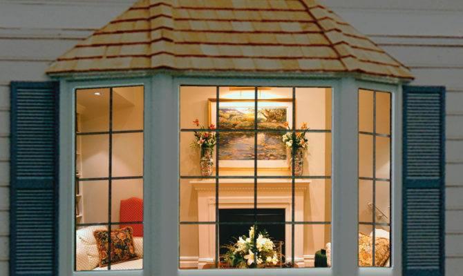 Modern Bay Windows House Plans Decoration Ideas