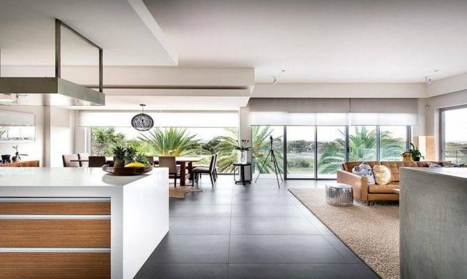 Modern Beach House Interior