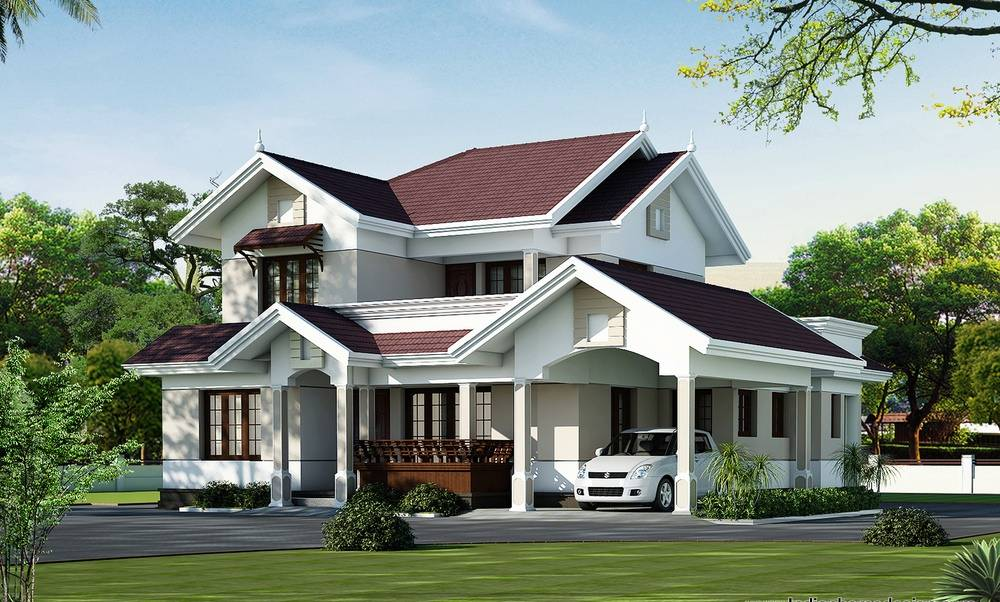 Modern Beautiful Kerala Home Design