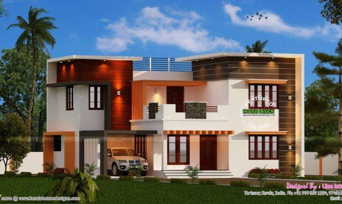 Modern Bedroom Kerala Home Design Floor