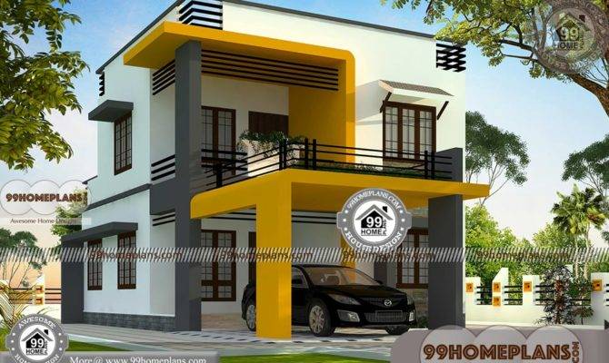 Modern Box House Design Collections Low Budget Double