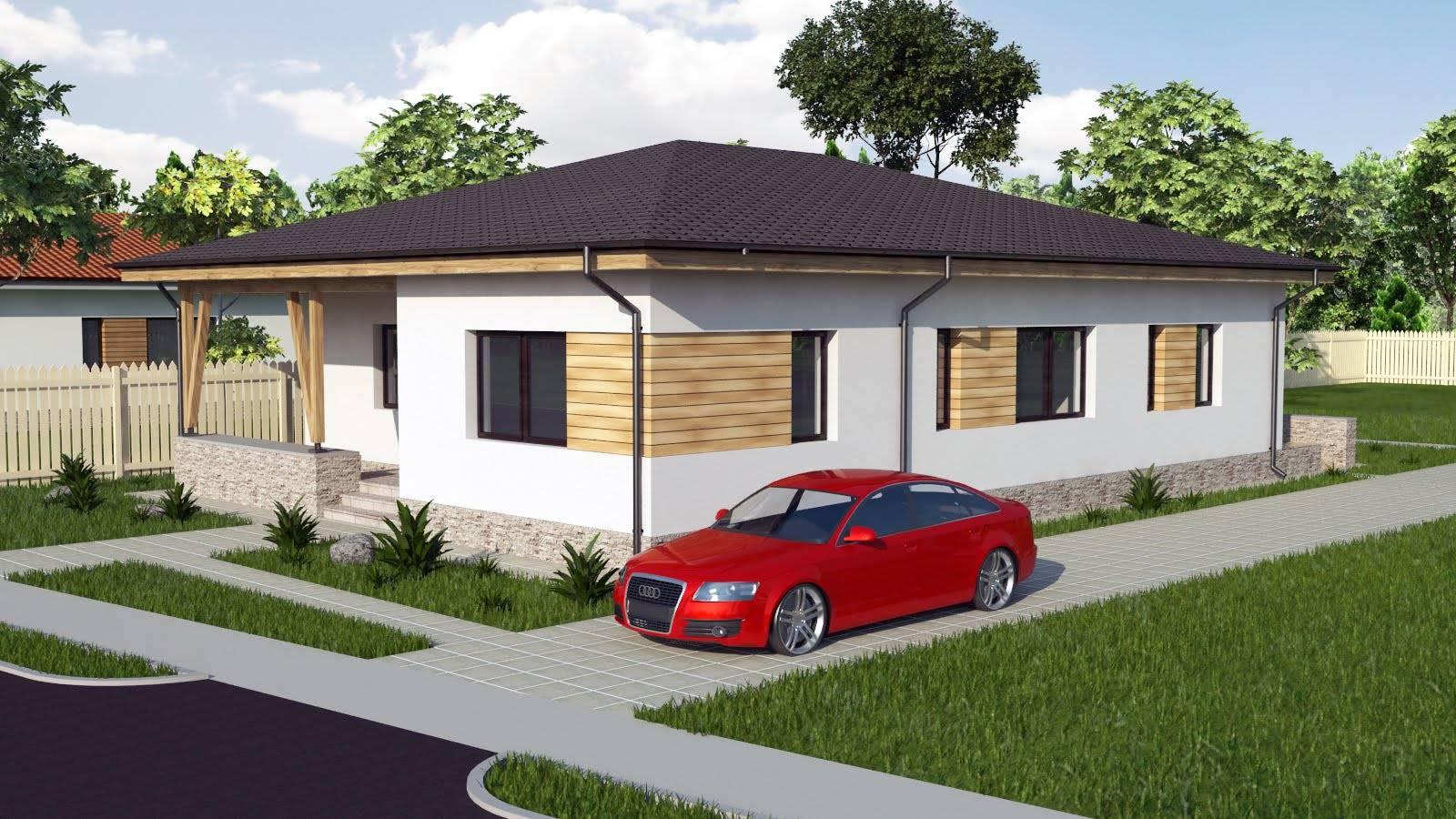 Modern Bungalow House Designs Floor Plans