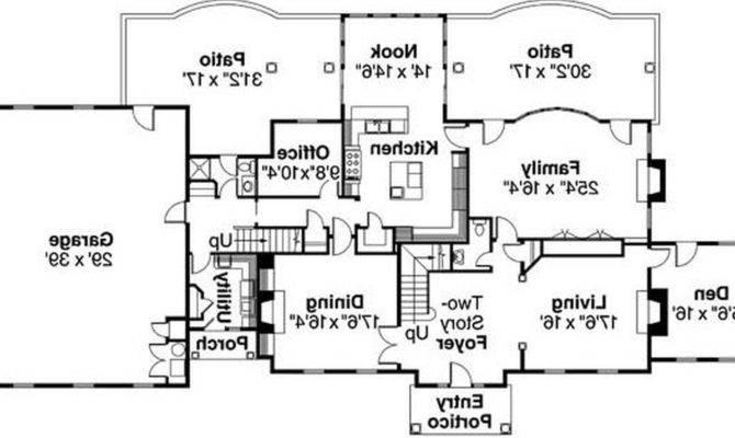Modern Bungalow House Floor Plan Plans