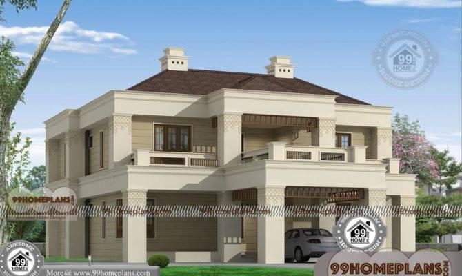 Modern Bungalow House Plan Two Floor Stylish