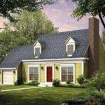 Modern Cape Cod Style House Plans
