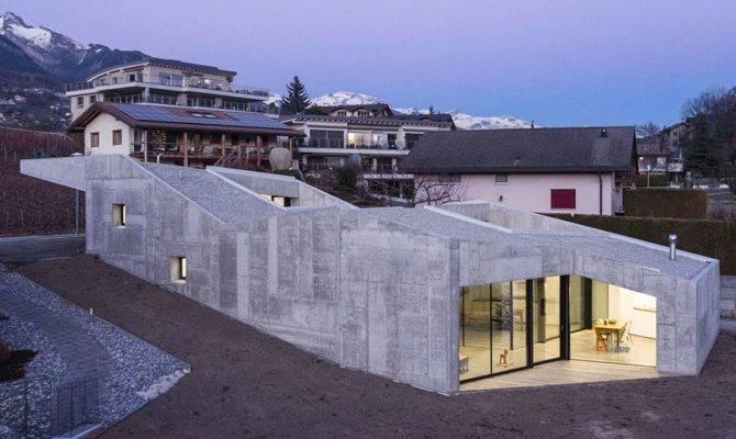 Modern Concrete Homes Sale House Plan