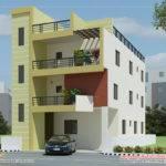 Modern Contemporary Home Elevations Kerala Design Floor
