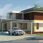 Modern Contemporary Home Elevations Kerala Design Floor