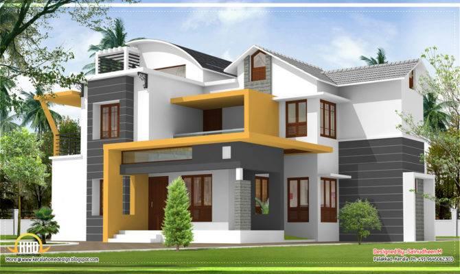 Modern Contemporary Kerala Home Design Indian