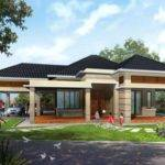 Modern Contemporary Single Story House Plans Home Deco