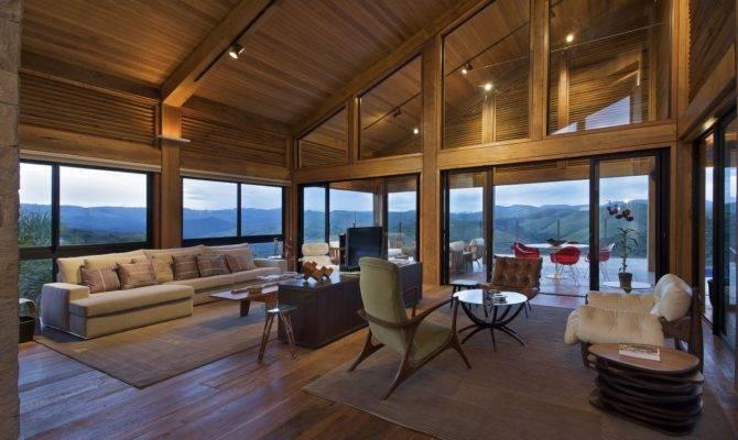 Modern Contemporary Wood House Interior Design Ideas Zeospot