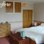 Modern Country Bedroom Before Tots