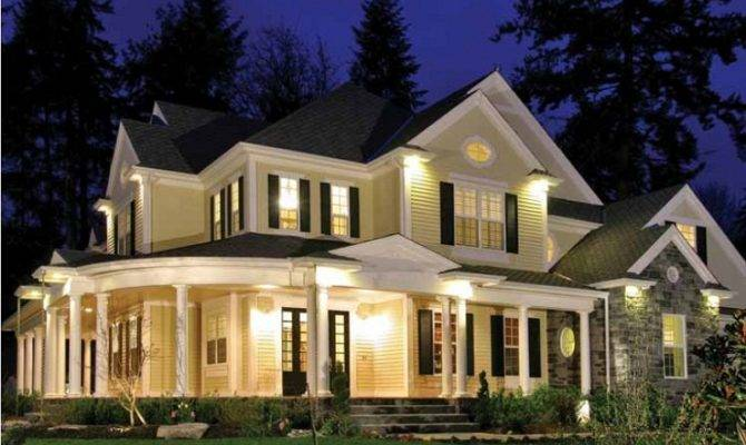 Modern Country Style Homes Lighting Homescorner