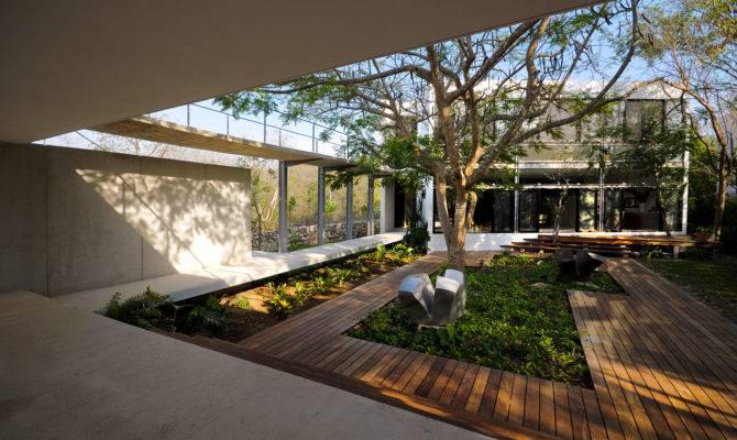Modern Courtyard Design Garden Ideas