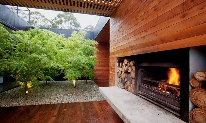 Modern Courtyard Landscape Design Ideas