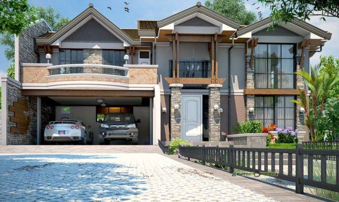 Modern Craftsman Floor Plans Garage House Plan