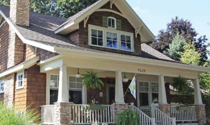 Modern Craftsman Home Plans