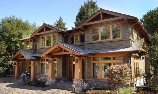 Modern Craftsman House Plans Exterior Plan
