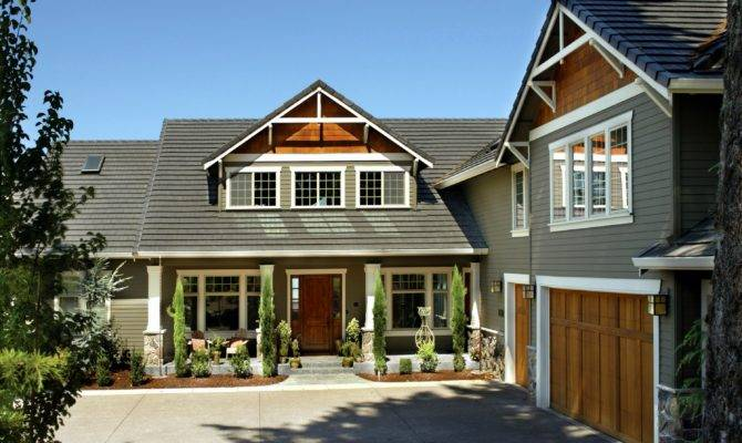 Modern Craftsman Ranch House Plans Style