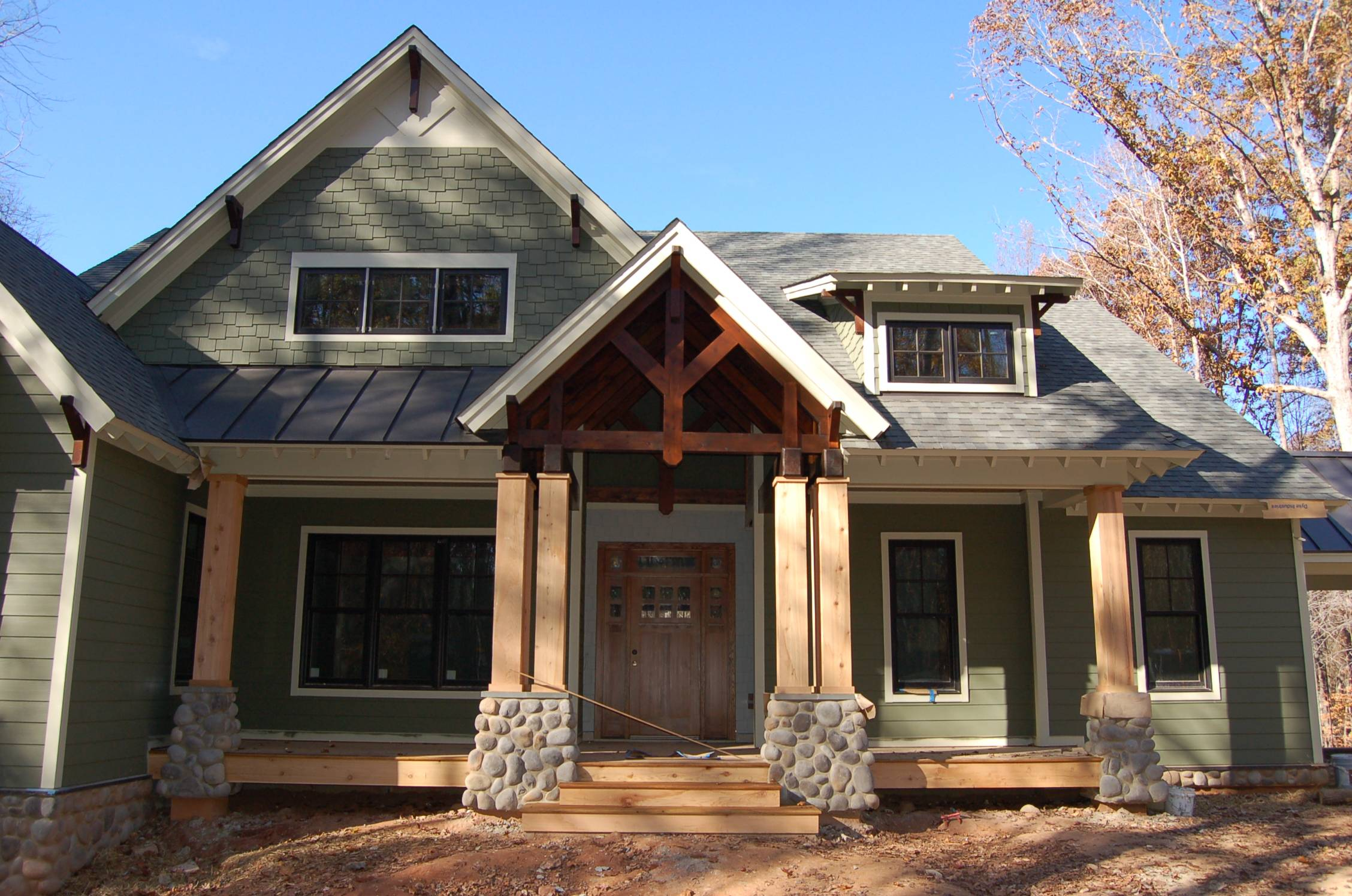 Modern Craftsman Style Home Building Our