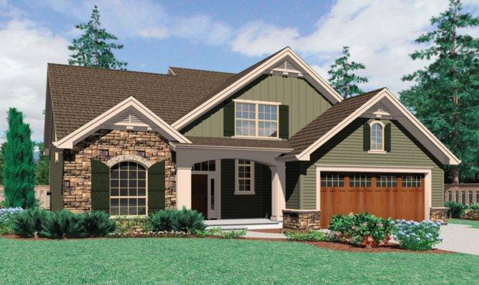 Modern Designs Beds Narrow Lot House Plans Front