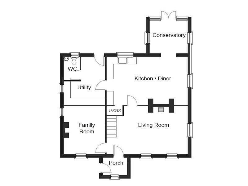 Modern Detached House Design Stanhope