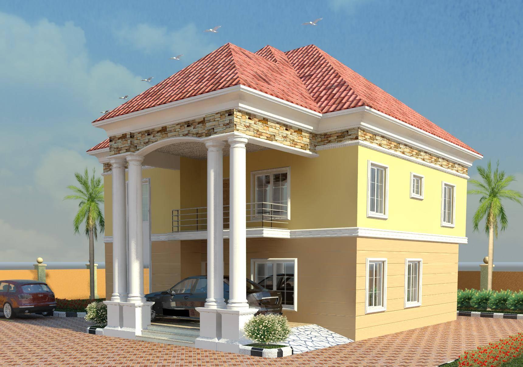Modern Duplex House Designs Nigeria Style