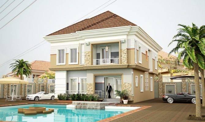 Modern Duplex House Plans Nigeria - Home Building Plans ...