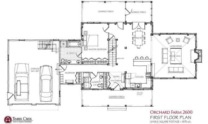 Modern Farmhouse Floor Plans Plan