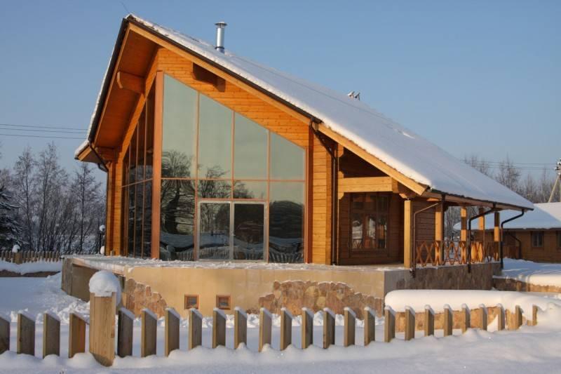 Modern Finnish Wooden House Wood Finland