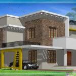 Modern Flat Roof House Design Kerala Home Floor Plans