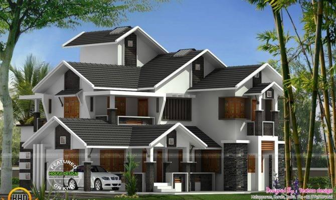Modern Flat Roof House Keralahousedesigns