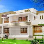 Modern Flat Roof House Plan Vision Int Arch Kerala Home Design