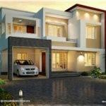 Modern Flat Roof House Square Feet
