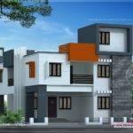 Modern Flat Roof House Square Meter Kerala Home Design