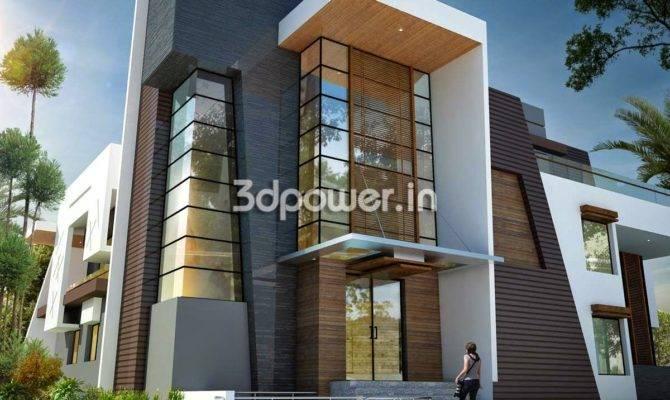 Modern Front Elevation Designs Homes Floor Plans