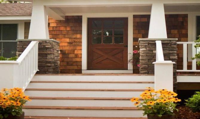 Modern Front Porch Designs Windows Chicago