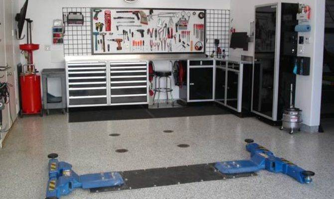 Modern Garage Interior Design Ideas