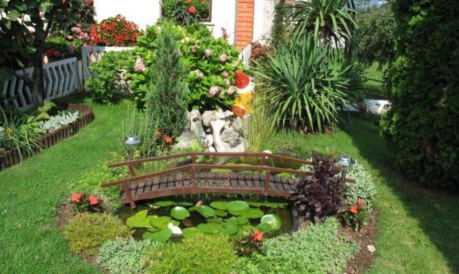 Modern Garden Concept Home Courtyard