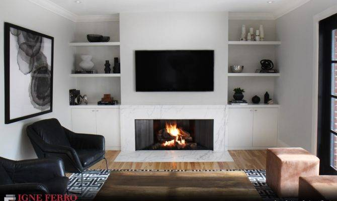 Modern Gas Fireplace Toronto