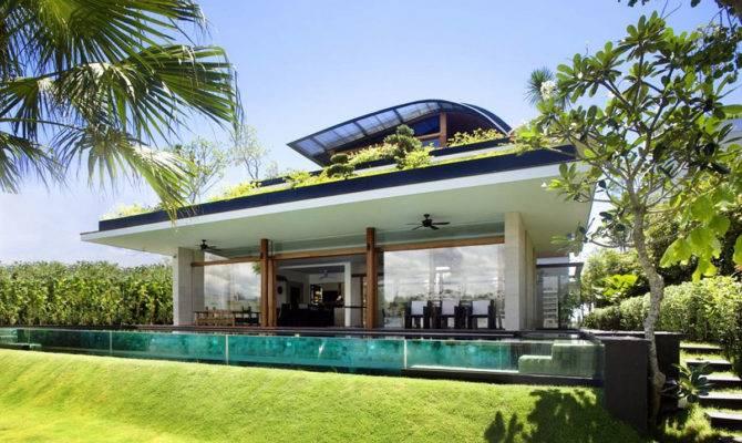 Modern Green Home Design Theme Photos