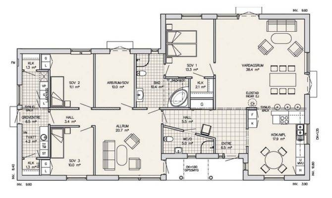 Modern Home Design Plans One Floor