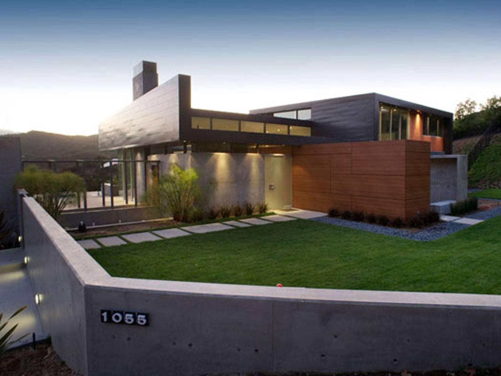 Modern Home Exterior Art Mad