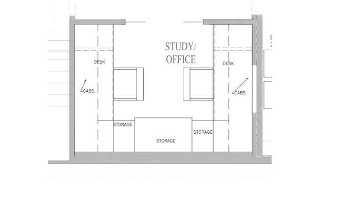 Modern Home Office Floor Plans Comfortable