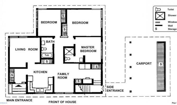Modern House Blueprints New Simple