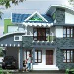 Modern House Elevation Square Feet Design Plans