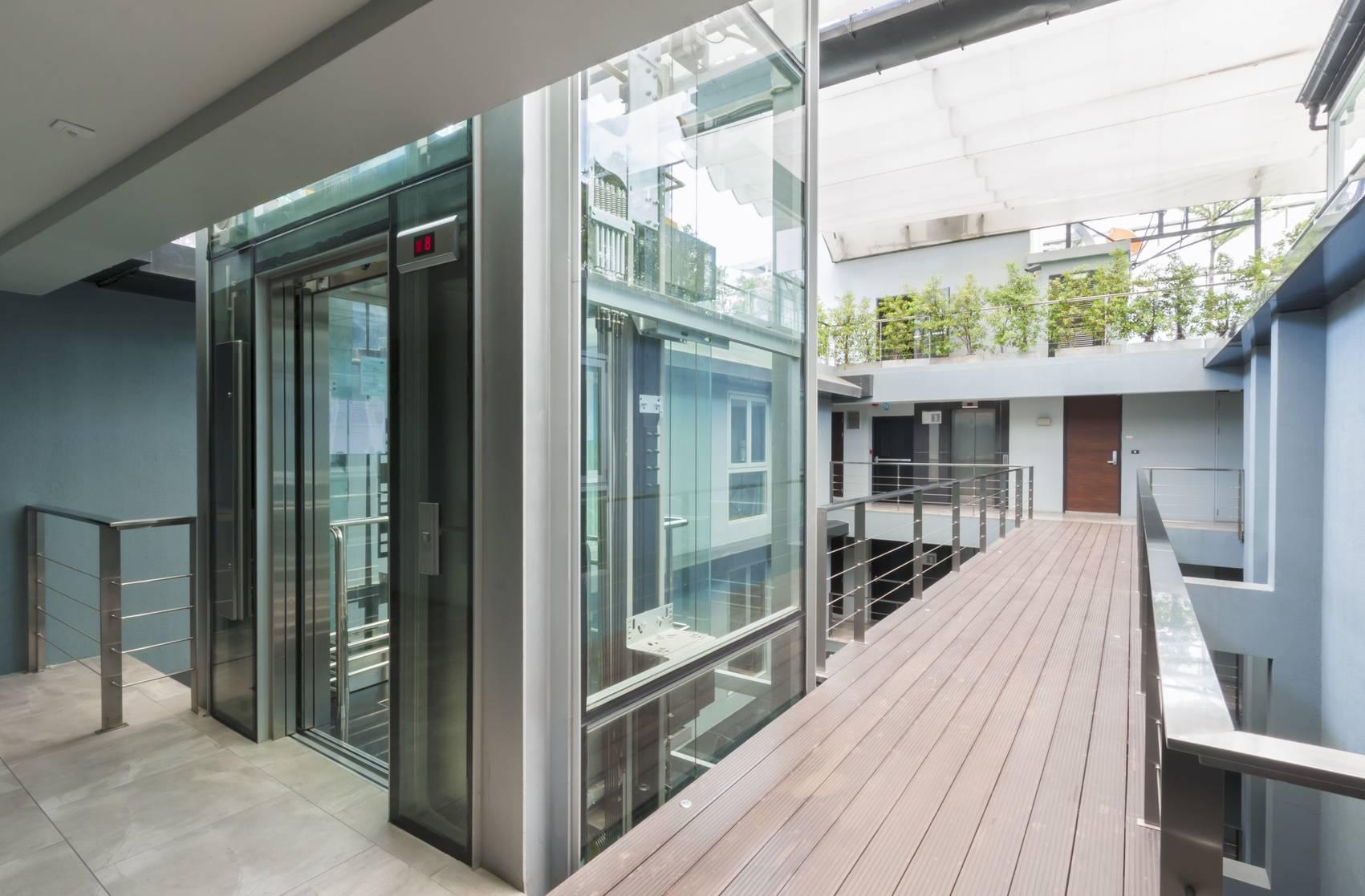 Modern House Elevators Interior Design Home