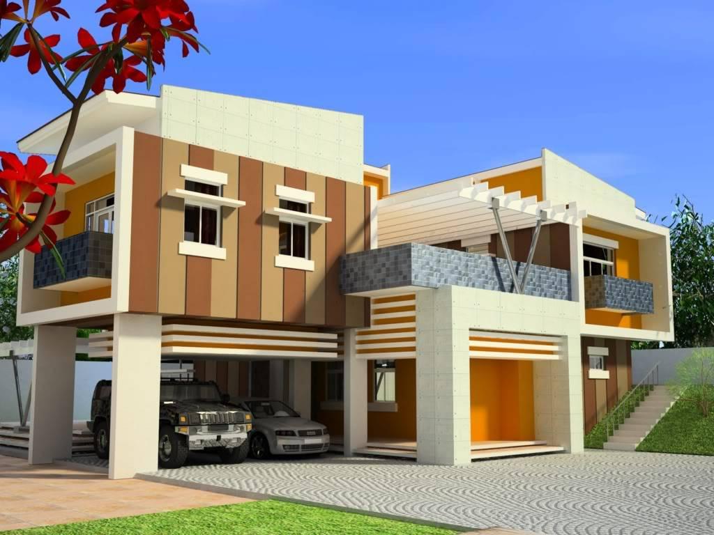 Modern House Exterior Front Designs Ideas