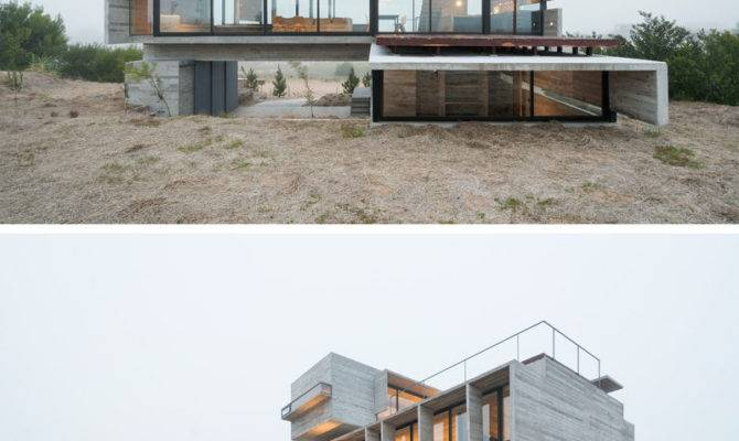 Modern House Exteriors Made Concrete Contemporist